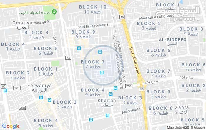 للايجار دور أرضي في عبداللة المبارك