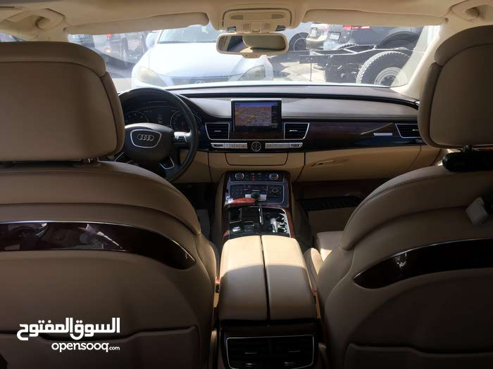 White Audi A8 2013 for sale