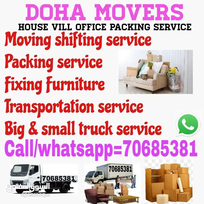 Good price Doha moving shifting service