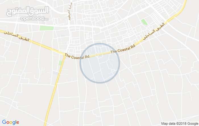 ارض 500 متر للبيع في الزاويه شارع الحاجه