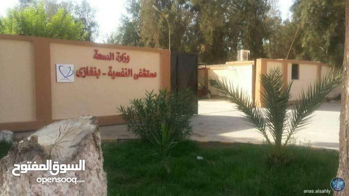 بنغازي عرض مغري من الملك أرض سكنية على شارعين في الهواري جوارفلل جيران عرب بلاد