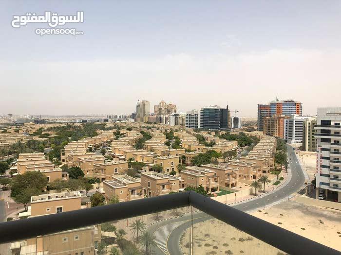 دبي واحة السيلكون غرفة وصالة جاهزة للبيع