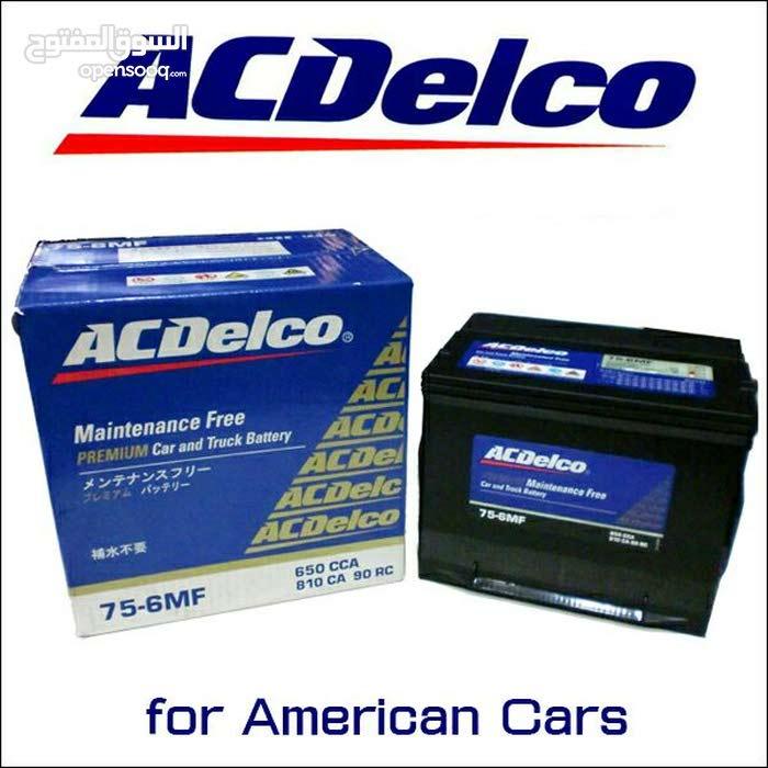 بطاريات سيارات AC Deleco الاصلية 40دينار صناعة 2018