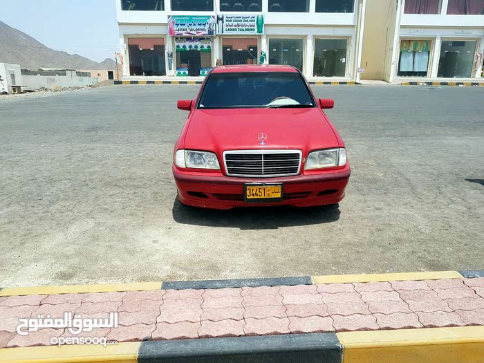 Mercedes Benz C 200 1998 For sale - Red color