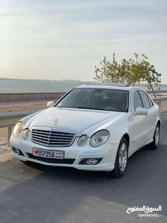 للبيع مرسيدس E280 موديل 2007 خليجي  بحالة ممتازة بدون اي مشاكل  ماشي 146 محرك V6