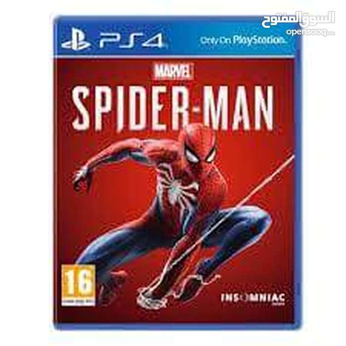 مطلوب لعبة spider man
