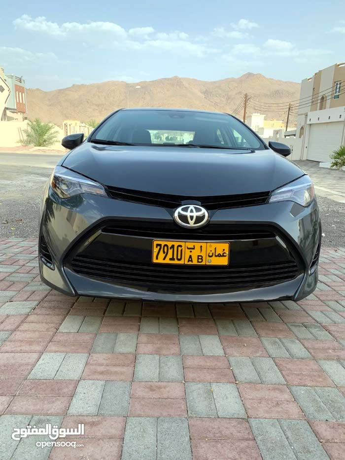 Used Condition Toyota Corolla 2017 With 30 000 39 999 Km Mileage