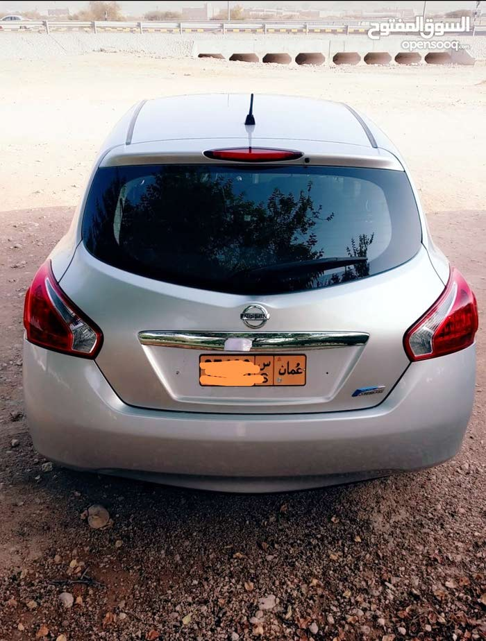 Silver Nissan Versa 2014 for sale