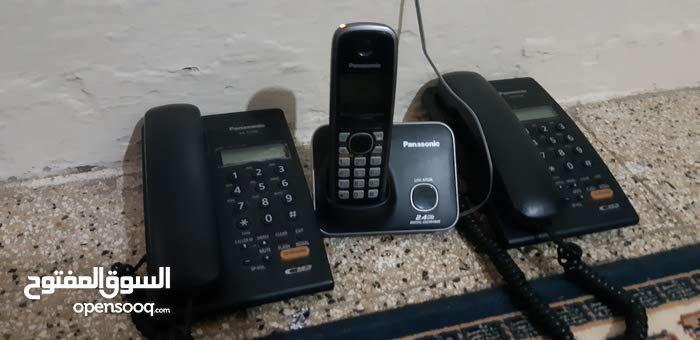 اجهاز تليفونات  الاسلكي وتابت  pansonicec