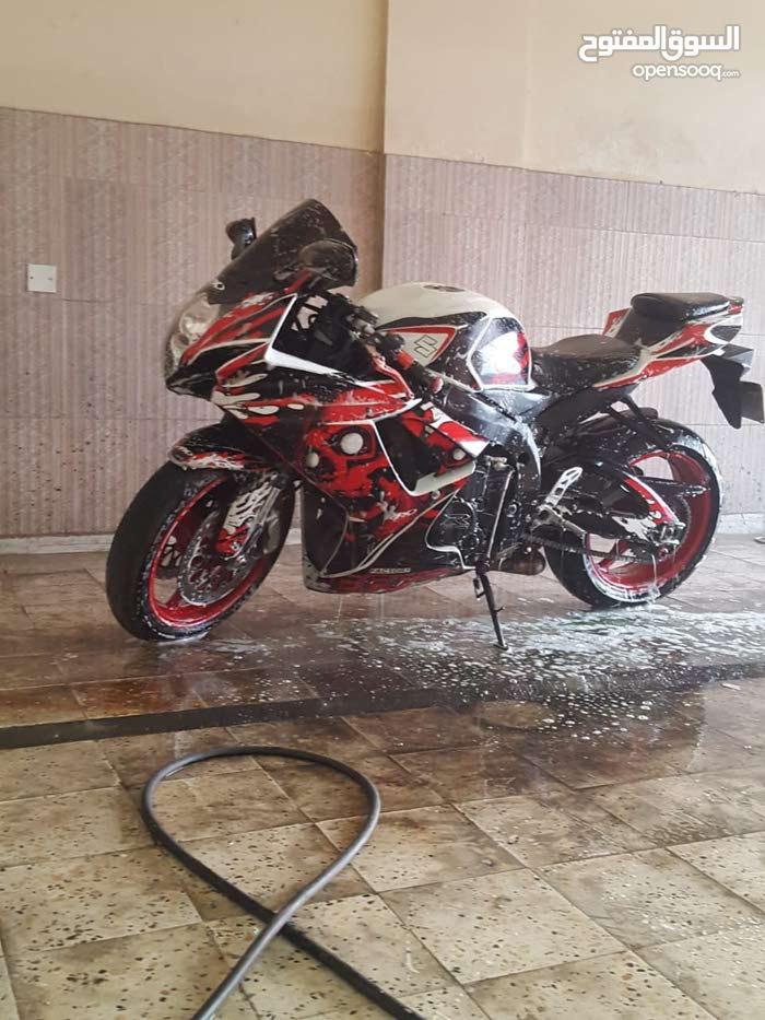 Suzuki motorbike made in 2011