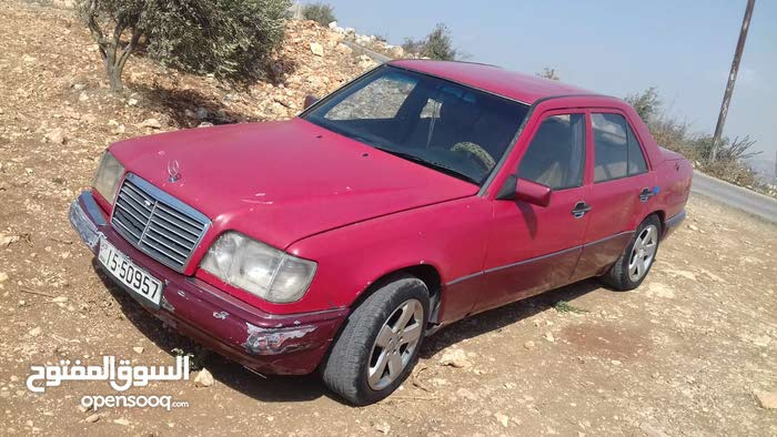 Mercedes Benz E 200 1993 For Sale Red Color 90271060 Opensooq