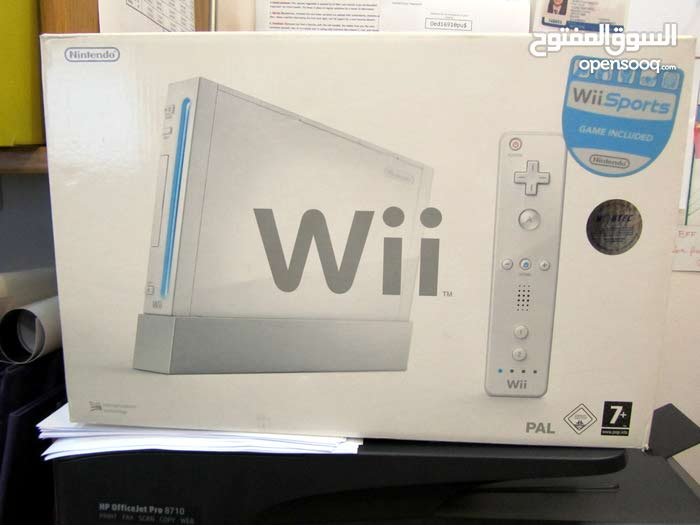 Wii Console and Sports Game