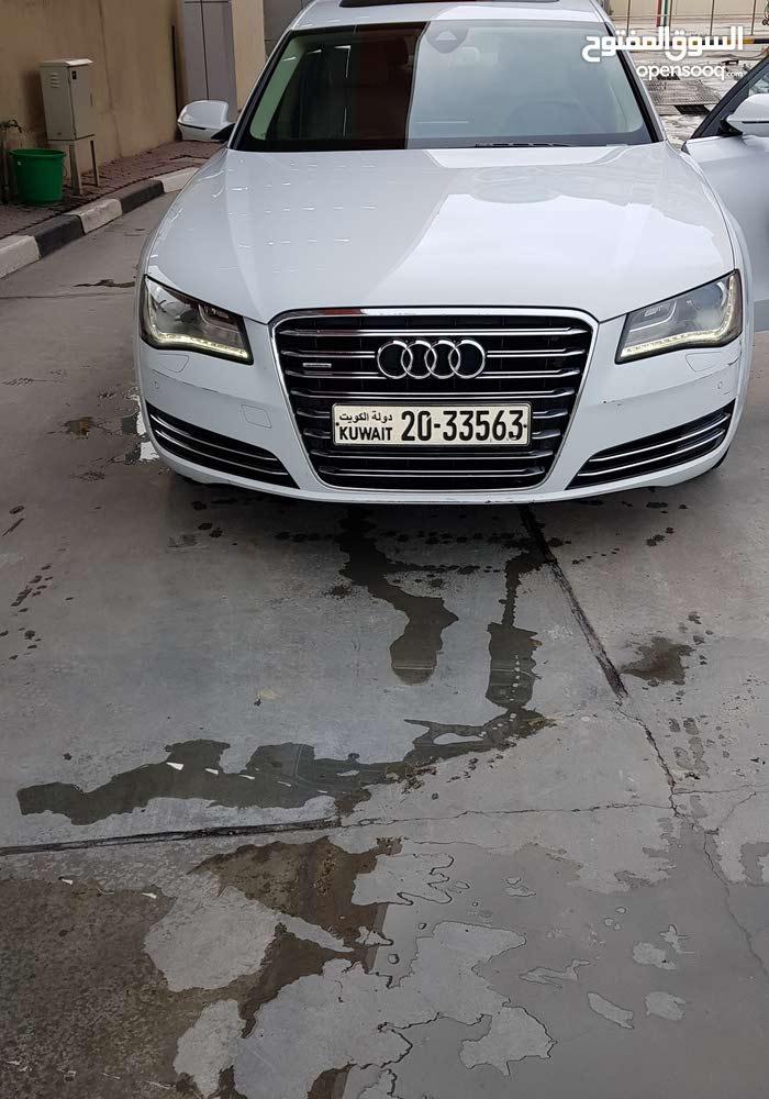 Gasoline Fuel/Power   Audi A8 2013