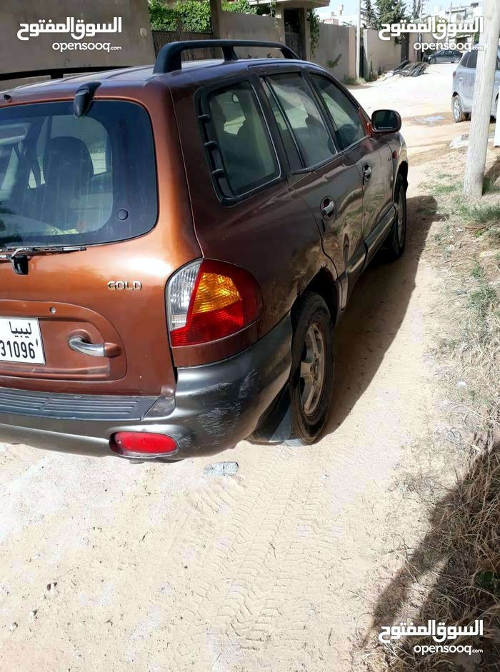 Automatic Maroon Hyundai 2002 for sale