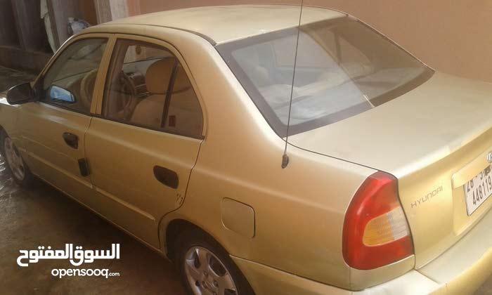 +200,000 km Hyundai Verna 2001 for sale
