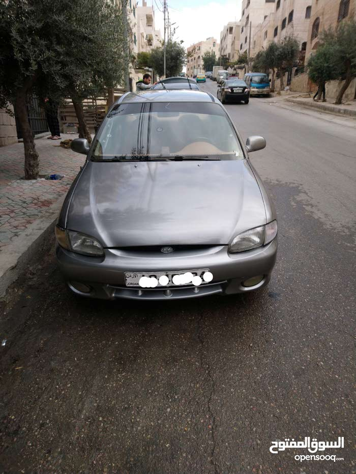Manual Grey Hyundai 1998 for sale