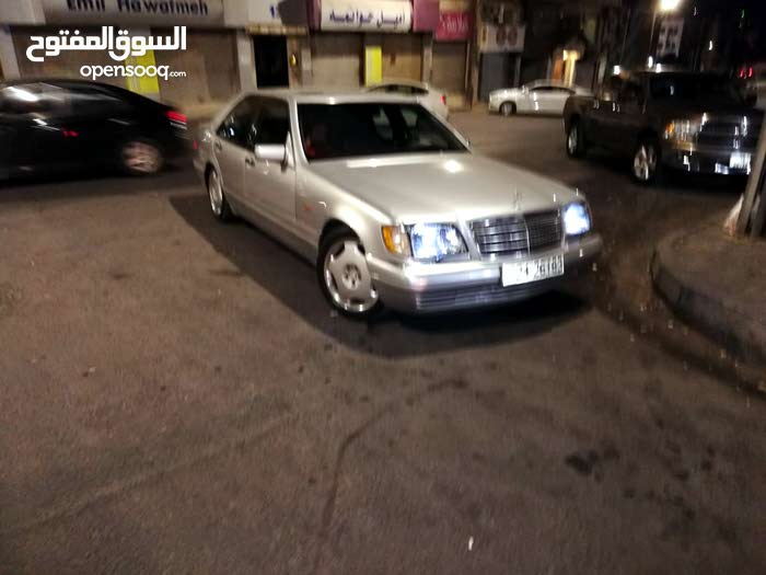 Mercedes Benz S 320 car for sale 1995 in Amman city