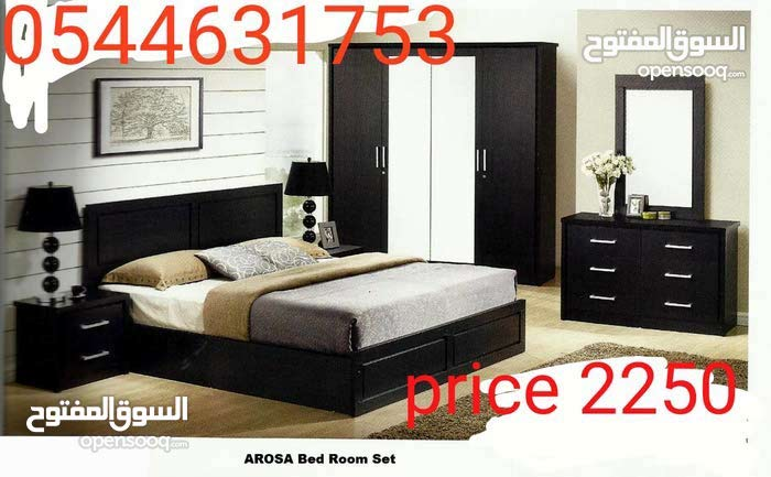 غرفة نوم مجموعة جديدة لون قوي جدا كثيرة المتاحة