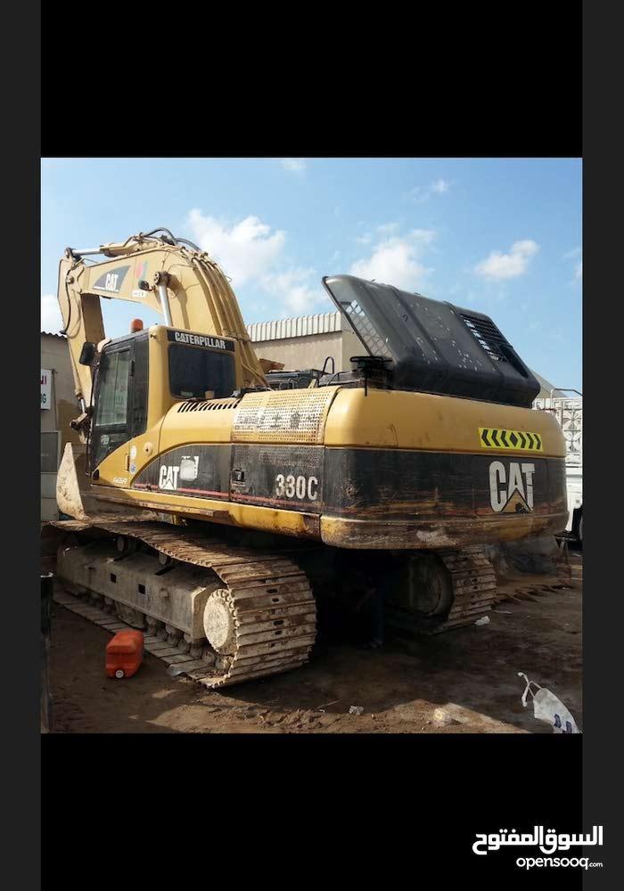 حفاره كاتربلر330c موديل2004 جاهزه للعملcaterpillar
