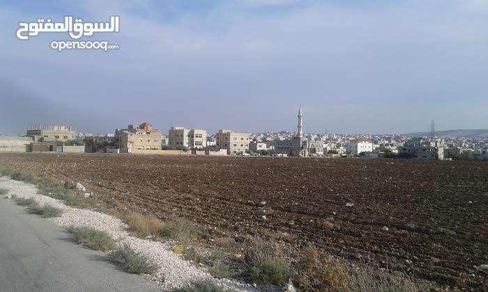ارض للبيع اربد / الحصن / خلف كازيه المناصير تصلح لمشروع اسكاني متكامل