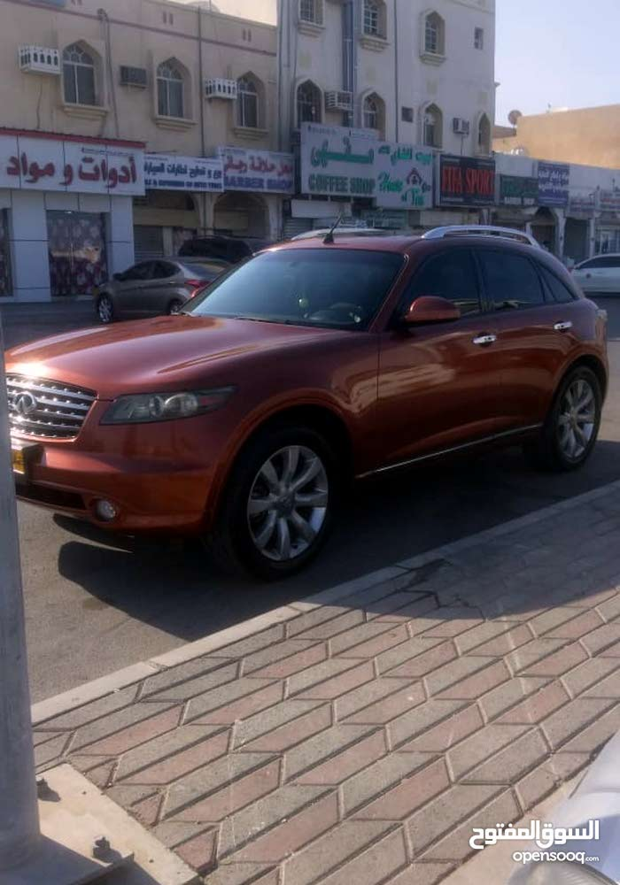 Infiniti FX35 2006 For sale - Orange color