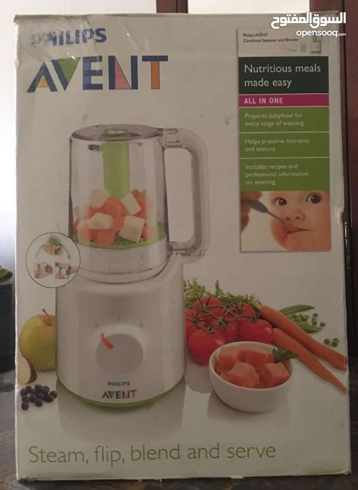 محضرة طعام أطفال صحي بالبخار Healthy steam Baby-food processor
