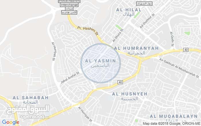 أرض مميزة جداً للبيع مساحة 394م/ضاحية الياسمين 3