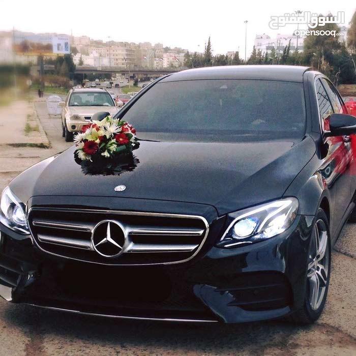 مرسيديس E200 2017 للايجار اليومي للاعراس واسبوعي وشهري
