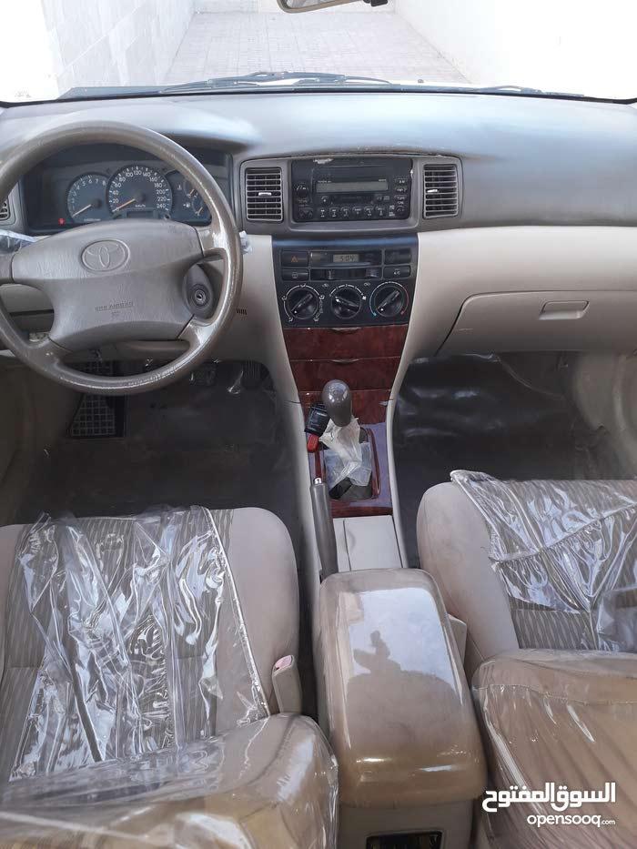 White Toyota Corolla 2006 for sale