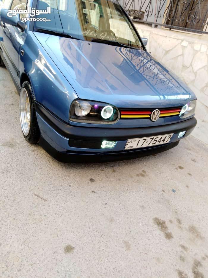 Blue Volkswagen Golf 1993 for sale