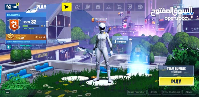 fortnite account for sale for ps4 and epic games account special price