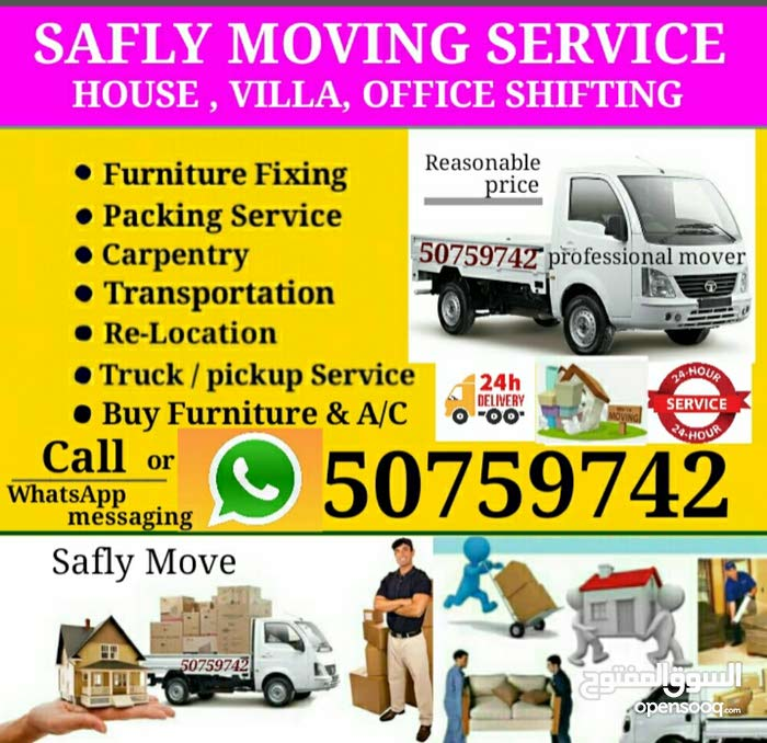 House, Villa, office moving service
