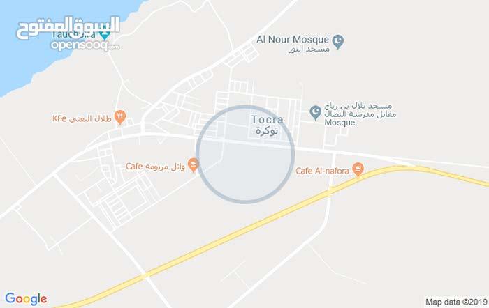 أرض للبيع في توكره مقابل استراحه الحيطه