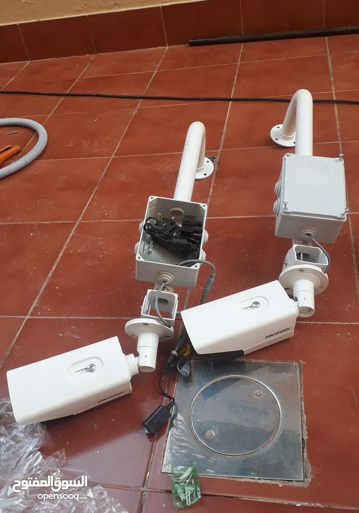 تركيب وصيانة  جميع كاميرات المراقبة