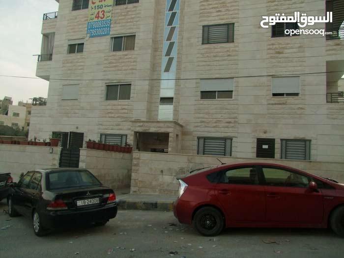 شقة للبيع في منطقة أم نواره _ بلقرب من حديقة الملكة رانيا _ مساحة 148 متر أرضي + ترس