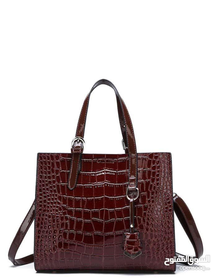 62a23a56cecb0 حقيبة يد نسائية - نمط مطبع ، بتصميم عصري أنيق - (105346590)