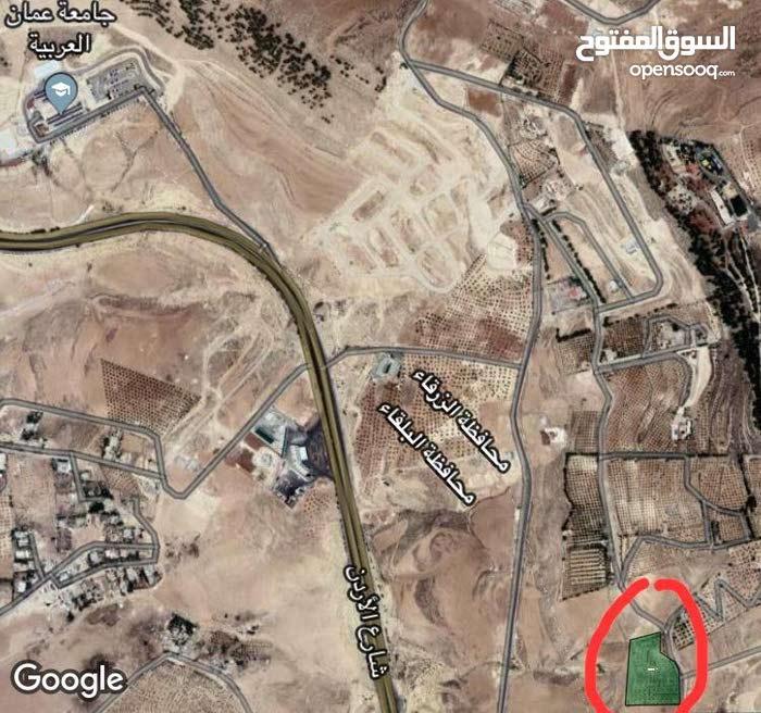 أرض 3500م في شارع الاردن ( موبص ) للبيع