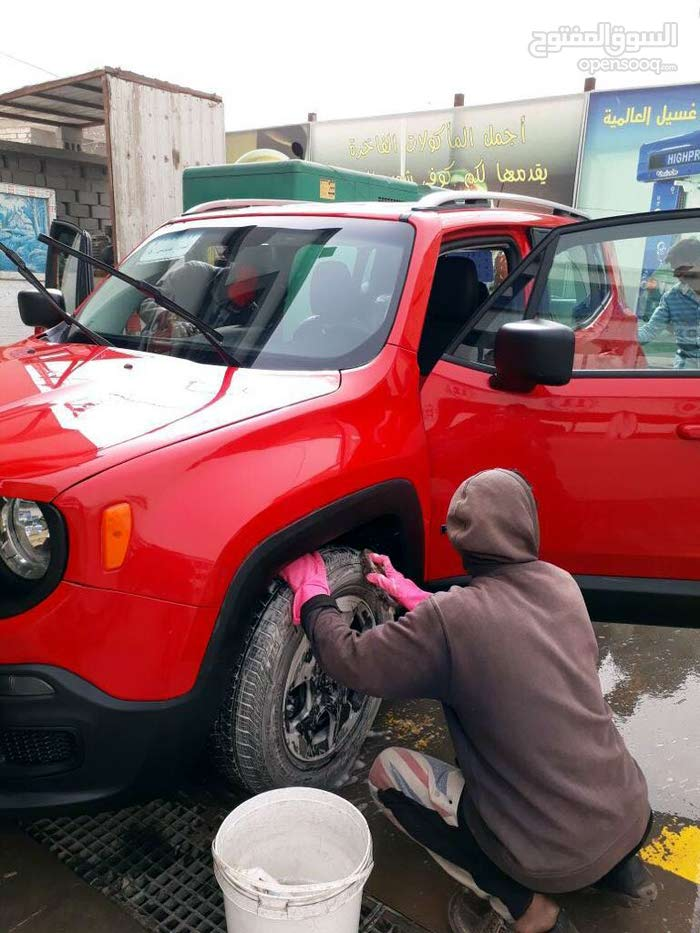 Jeep Renegade 2016 For sale - Red color