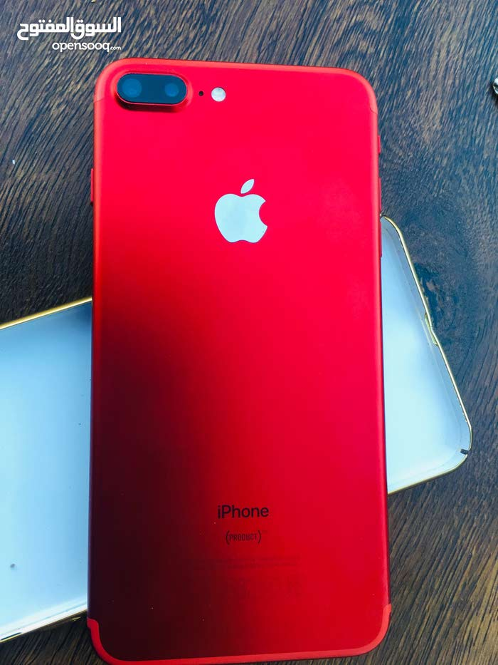 I Phone 7 plus 128GB.. (Red limited edition) OMR 215..