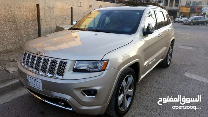 Automatic Gold Jeep 2014 for sale