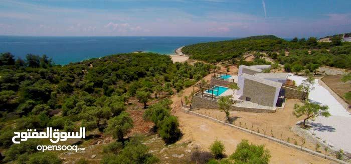فيلا للبيع في جزيرة ثاسوس في اليونان