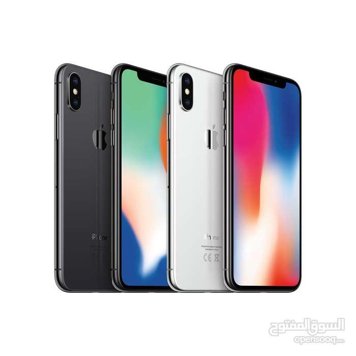 iPhone X-64GB جديد بضمان آبل سنة كاملة