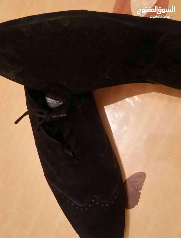 حذاء شامواء جلد مغربي ممتاز