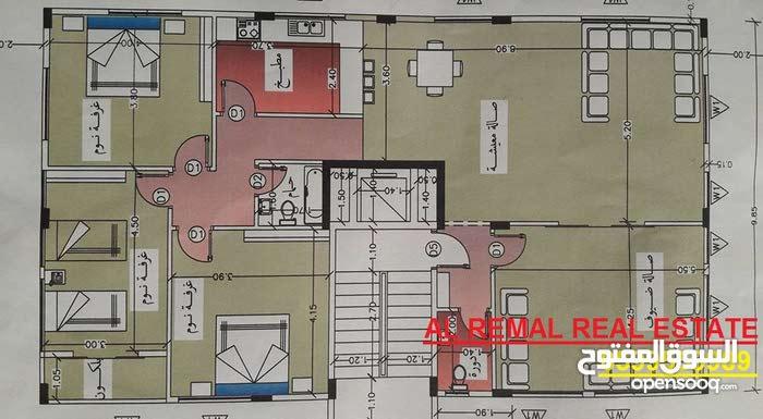 للبيع او البدل شقة 130 متر غرب غزة