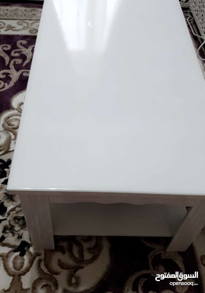 Available for sale in Sharjah - Used Tables - Chairs - End Tables