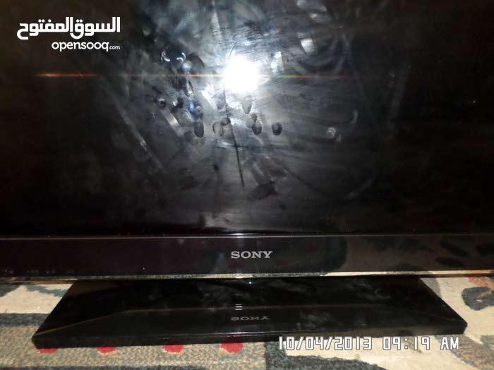 تلفزيون سوني مسطح 26 بوصه وكاله بكرتونه