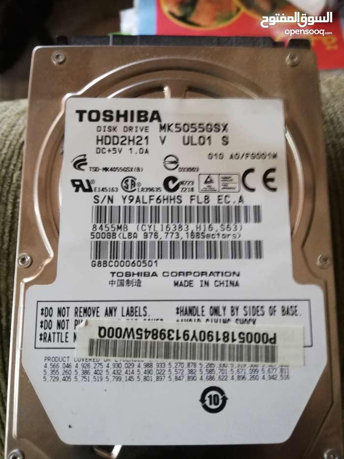 500 GB / TOSHIBA DISK DRIVE