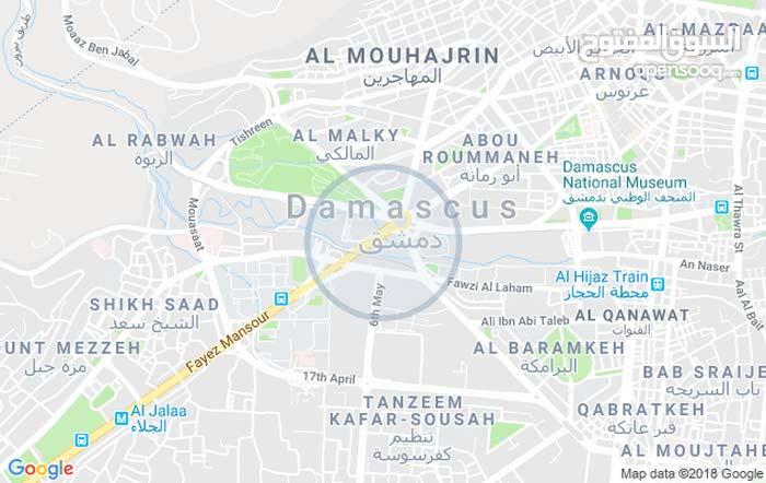ارض للبيع دمشق ركن الدين