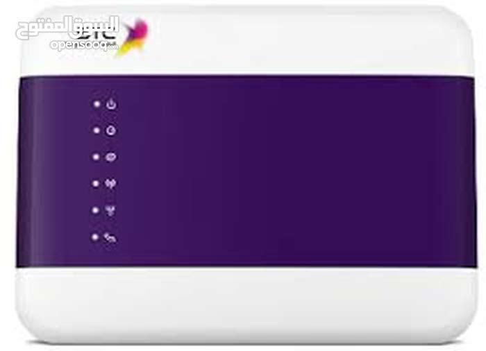 جهاز راوتر موبايلي  عدد 1 وا جهاز مودم stc 2