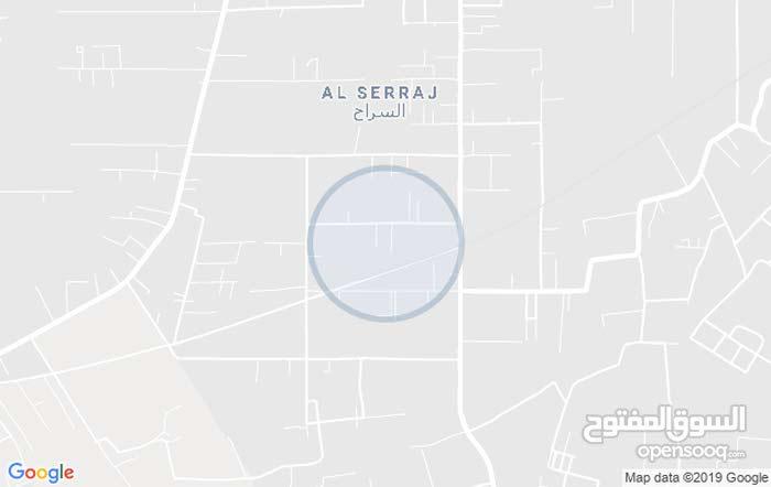 قطعة ارض سكنية 500 متر شارع البغدادي
